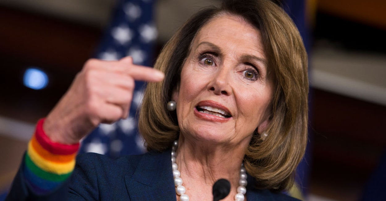 QnA VBage Pelosi Is Hijacking the Civil Rights Movement to Force LGBT Ideology on Kids