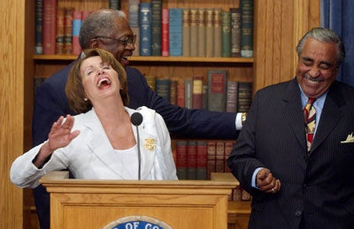 Pelosi_Rangel_Laughing09022