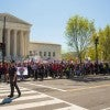 Thousands of protestors at the U.S. Supreme Court (Photo: Jeff Malet Photography/Newscom)