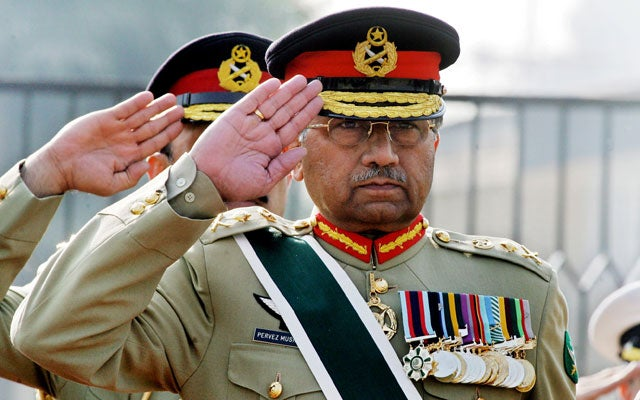 Pervez Musharraf. (Photo: AAMIR QURESHI/AFP/Getty Images/Newscom)