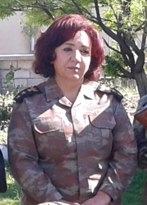 Lt Colonel Nahida Ahmad Rashid. (Photo courtesy of the 2nd Battalion)