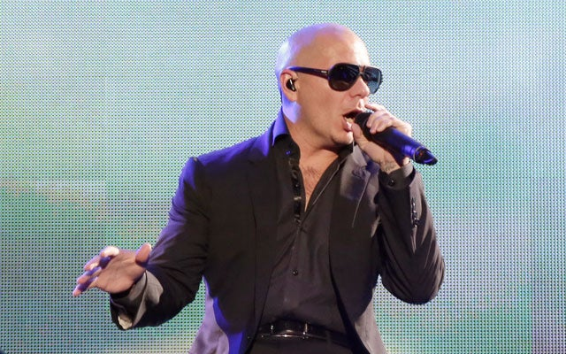 Rapper Pitbull. (Photo: Alberto E. Tamargo/Sipa USA/Newscom)
