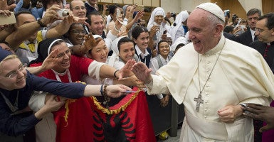 Pope Francis, pictured in Vatican City on September 17, 2015, is expected to draw large crowds throughout his visit to the U.S. (Photo: Osservatore Romano/ZUMA Press/Newscom)