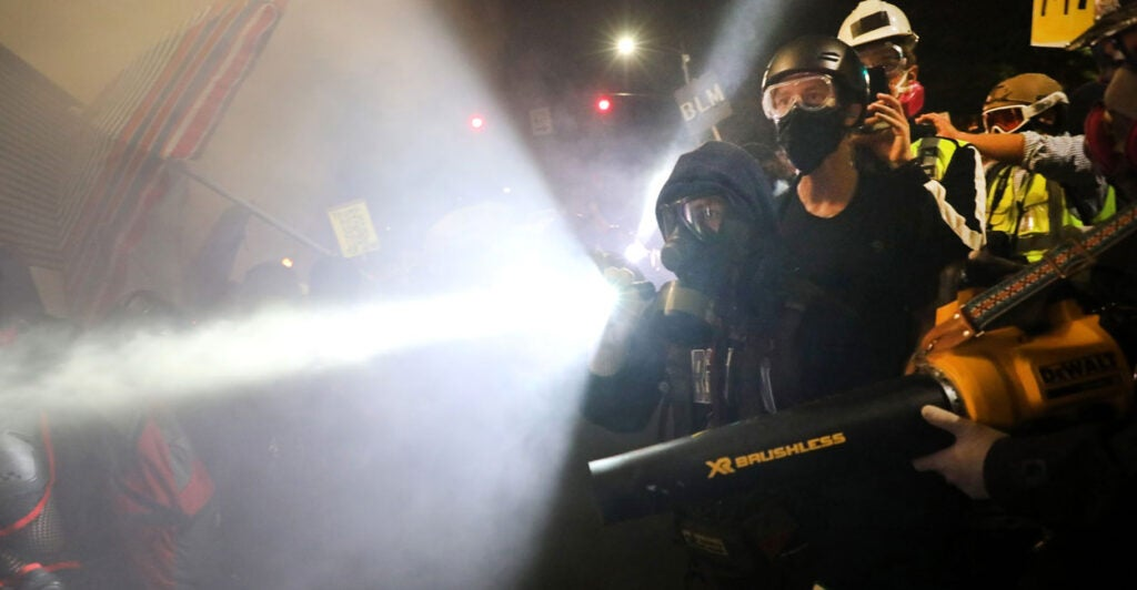 Peaceful Riots'? Journalism Bows to the Woke Mob