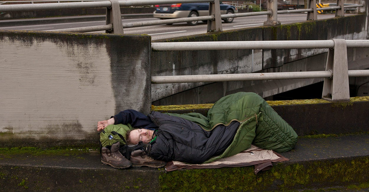 Why Portland's Homeless Problem Is the Worst in the Nation