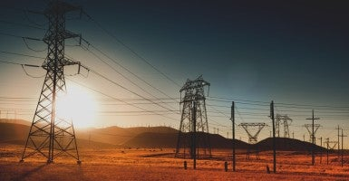 Field of electrical power lines in California (Photo: iStockphoto)
