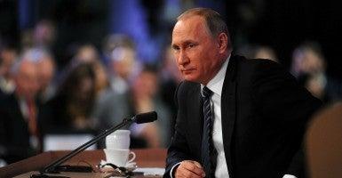 (Photo:Kremlin Pool/ZUMA Press/Newscom)