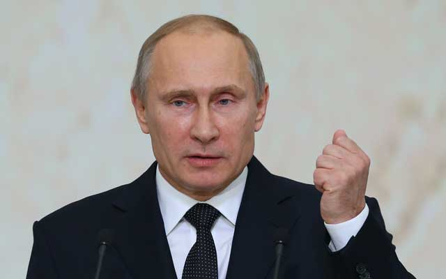 President of Russia Vladimir Putin (Valery Sharifulin/ZUMA Press/Newscom)