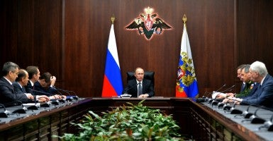 (Photo: Alexei Druzhinin/TASS/Newscom)