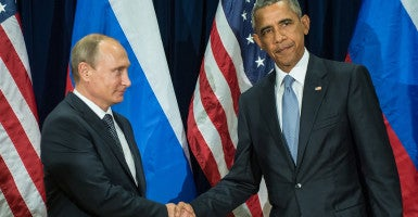 Presdent Obama has not successfully led the U.S. on foreign policy matters. (Photo: Guneyev Sergei/ZUMA Press/Newscom)