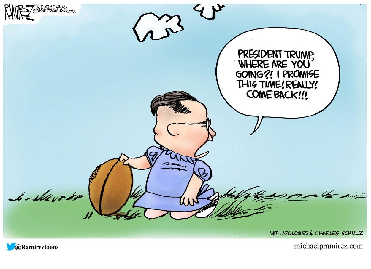 Cartoon: The Nuclear Football