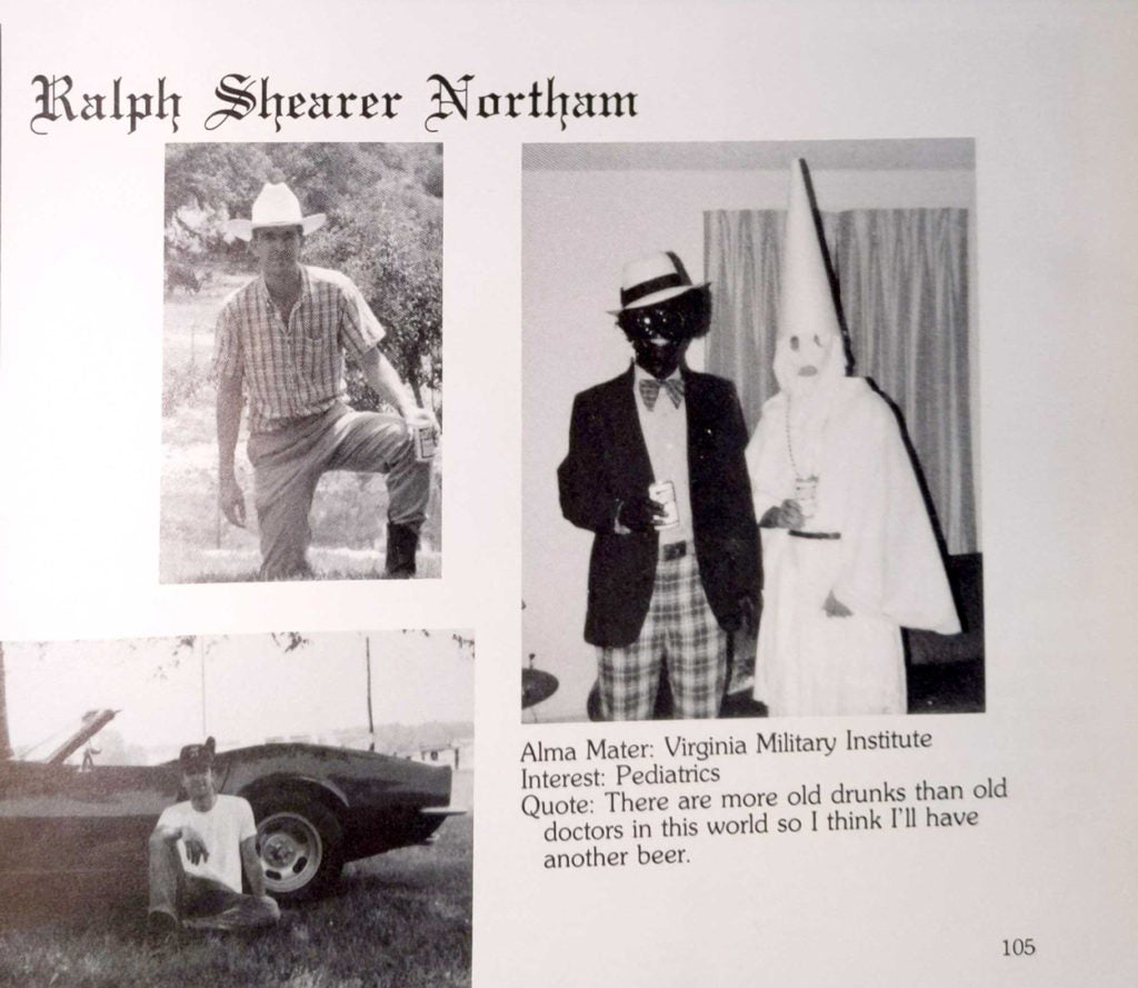 Ralph Northam: Proof That Liberals Excuse Racism If You're One of Them