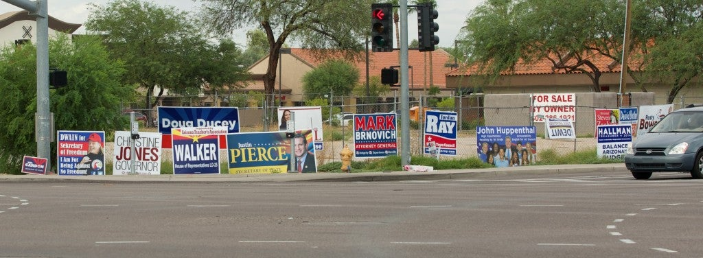 Gilbert, Ariz. does not impose the same restrictions on residents posting political signs as it does on Pastor Clyde Reed of Good News Church.