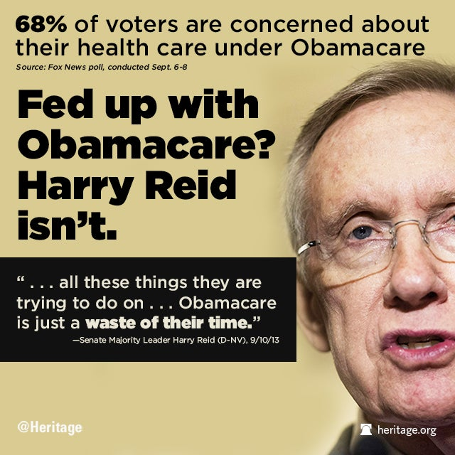 Reid Loves Obamacare - Fox News Poll