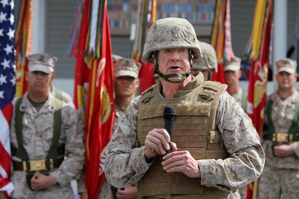 Marine Lieutenant General Richard P. Mills
