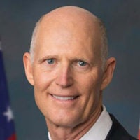 Portrait of Sen. Rick Scott