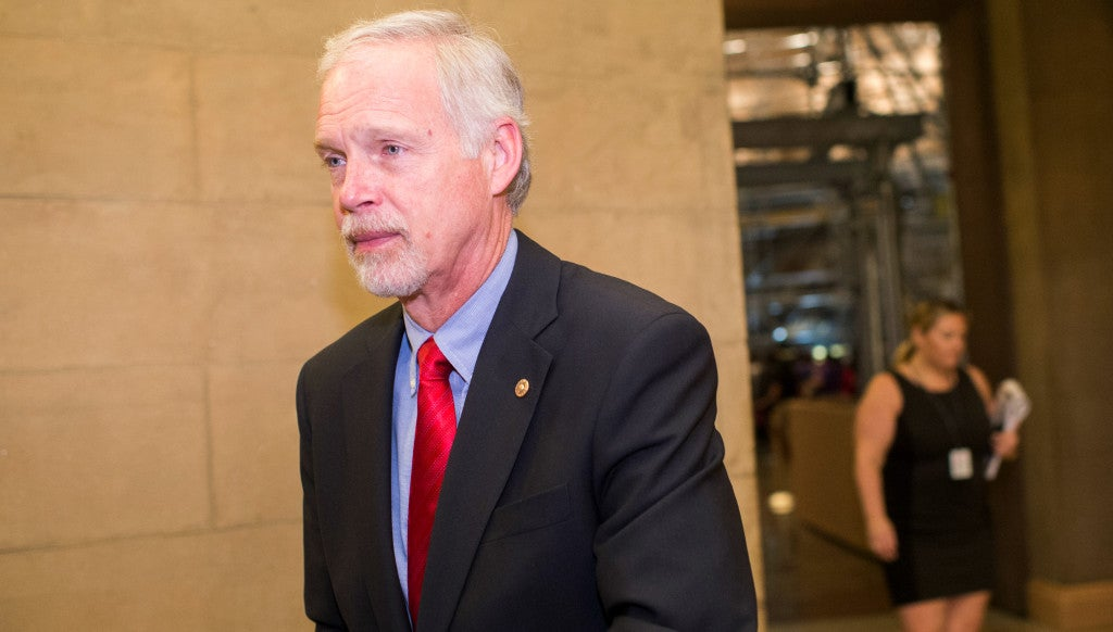 Sen. Ron Johnson, R-Wis., has been critical of how the federal government has responded to the unaccompanied minor crisis of 2014. (Photo: Bill Clark/CQ Roll Call/Newscom)
