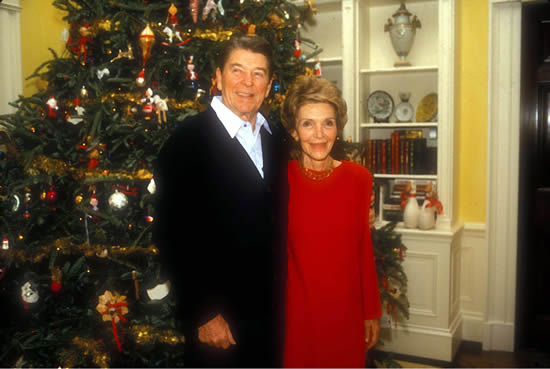 Let us turn one more time to Ronald Reagan ... - The Reagans At Christmas