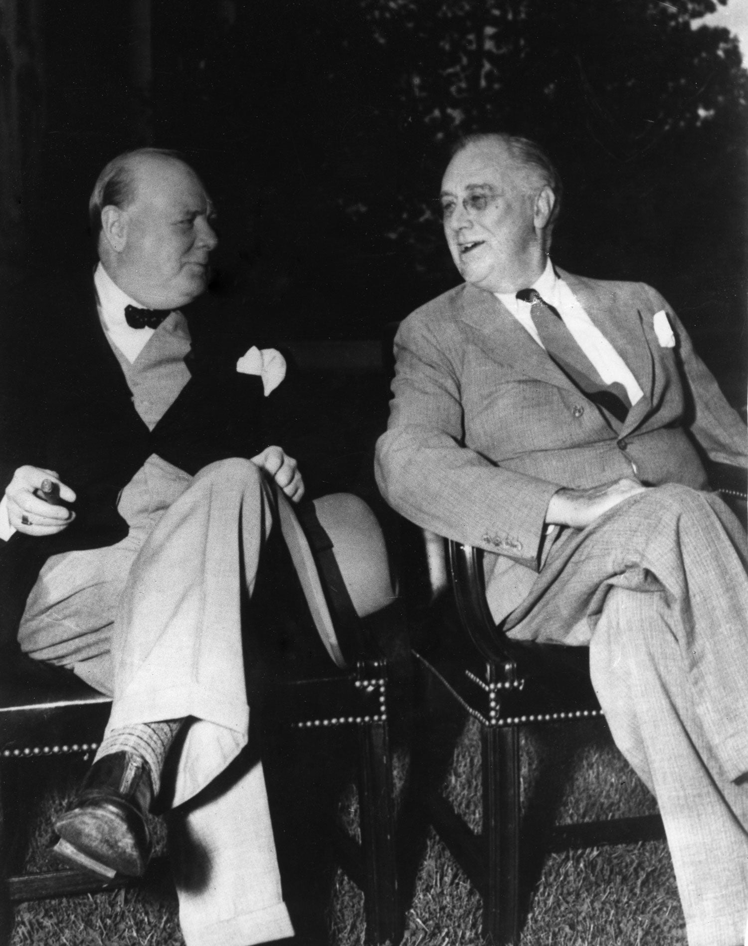 fdr and winston churchill