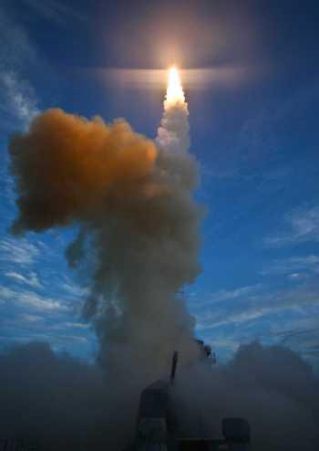 SM3 Missile Interceptor