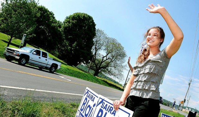 At 18 years old, West Virginia Delegate Saira Blair stands strong for life (Photo: Blair for WV)