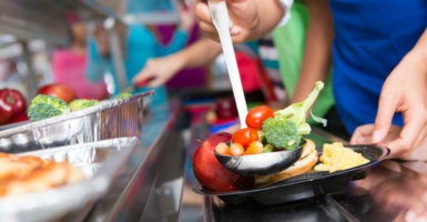 The Healthy, Hunger-Free Kids Act of 2010 set new nationwide nutrition standards for school lunches, which received widespread public criticism. (Photo: iStock Photos)