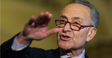 Sen. Chuck Schumer says he'll make good on his promise to advance background checks in firearms purchases. (Photo: CQ Roll Call/Newscom)