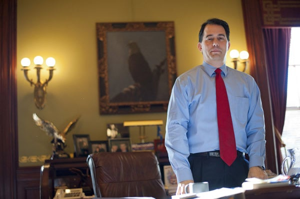 Gov. Scott Walker, R-Wis. (Photo: Newscom)