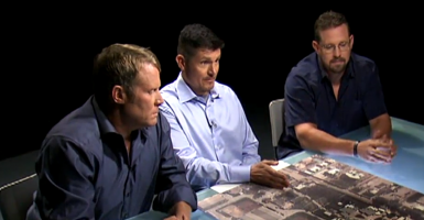 "The security contractors -- Kris (""Tanto"") Paronto,  Mark (""Oz"") Geist, and John (""Tig"") Tiegen -- spoke exclusively, and at length, to Fox News' Bret Baier about what happened during Beghazi. (Photo: Screengrab from Fox News)"
