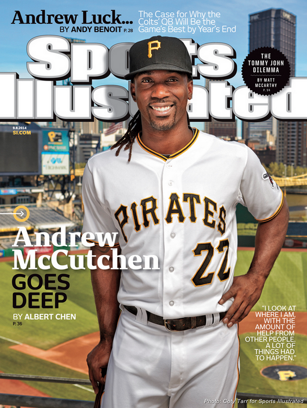 Sports Illustrated Sept. 8, 2014 issue.