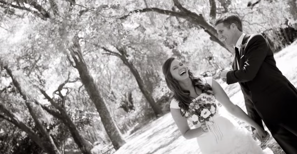 Brittany and Dan Maynard on their wedding day just two years ago. (Photo: Compassion Choices YouTube)