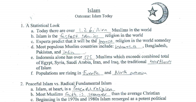 mom bucks lesson that muslims more devout than christians. Black Bedroom Furniture Sets. Home Design Ideas