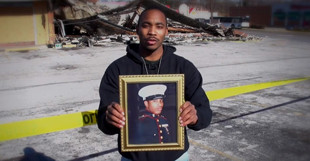 WIlliams served in his school's ROTC program. (Photo: Jamie Jackson)
