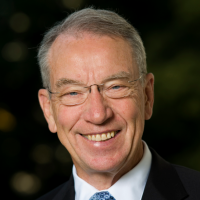 Portrait of Sen. Chuck Grassley