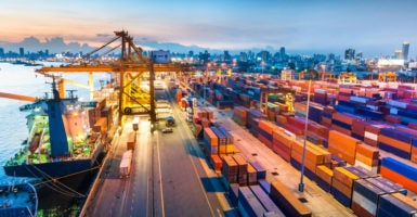 A new report from the U.S. trade representative implies that U.S. trade deals going back to the 1980s are linked to a decline in U.S. households' economic well-being. (Photo: iStock Photos)