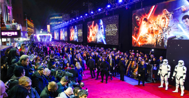 European Premiere of 'Star Wars: The Force Awakens' (Photo: Jeff Spicer/Geisler-Fotopress/picture alliance / Geisler-Fotop/Newscom)