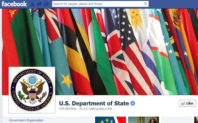 State Department Facebook
