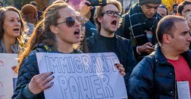 U.S. college campuses have been drained of real intellectual diversity and have become hubs for leftist indoctrination. (Photo: Pacific Press/Sipa USA /Newscom)