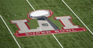 """The FAA made NRG Stadium, and the surrounding Houston area, into a """"No Drone Zone."""" (Photo: Kevin Dietsch/UPI/Newscom  )"""