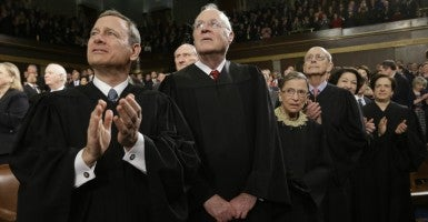 This term, the Supreme Court will hear cases involving unions, voting rights, the death penalty, and racial preferences. (Photo: Charles Dharapak/Pool/Cnp/ZUMA Press/Newscom)
