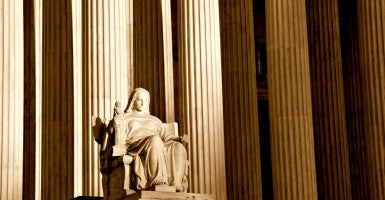 A recent Gallup Poll shows that 53 percent of Americans have trust in the Supreme Court. (Photo: iStock Photos)