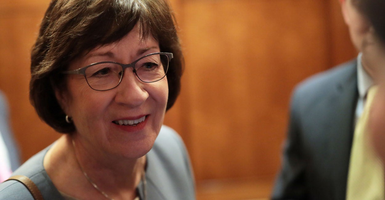 Susan Collins, Not Pelosi, Is the True Profile in Courage