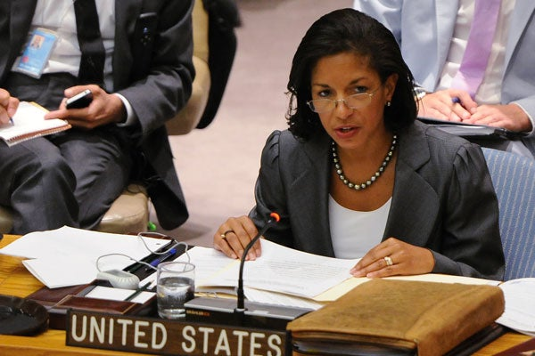 Susan Rice (Photo: Newscom)