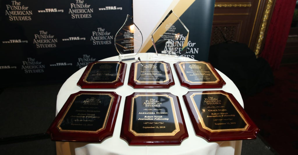 Fund for American Studies Recognizes Young Journalists