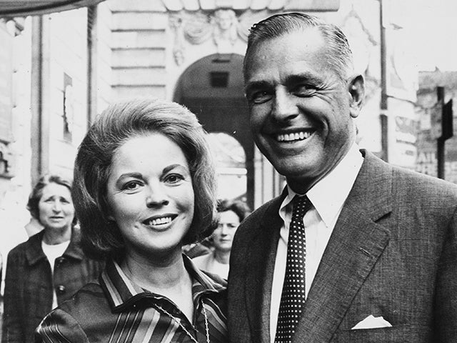 Shirley Temple and Charles Black - 1968