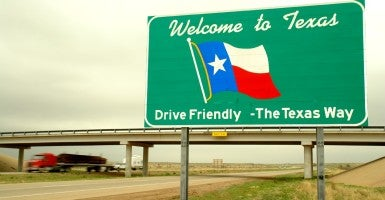 Five of the seven states with the biggest gains in income have no income tax at all: Florida, Texas, Arizona, Washington, and Nevada. (Photo: Andre Jenny Stock Connection Worldwide/Newscom)