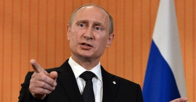 Russian President Vladimir Putin (Photo: Newscom)