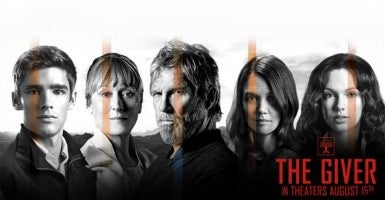 Photo: 'The Giver' Film Facebook