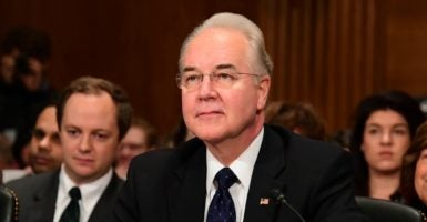 Rep. Tom Price, R-Ga., served as chairman of the House Budget Committee and is a leading congressional expert in health care policy. (Photo: Ron Sachs /CNP/AdMedia/SIPA/Newscom)