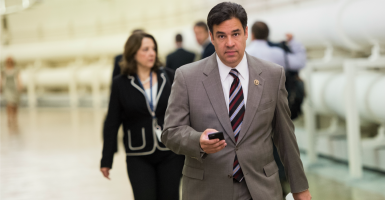 Rep. Raul Labrador, R-Idaho, believes House Republican leadership could better include conservatives in a debate over giving President Obama trade authority. (Photo By Bill Clark/CQ Roll Call)
